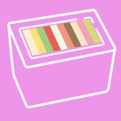 Eisbox 2l / maximal 10 Sorten